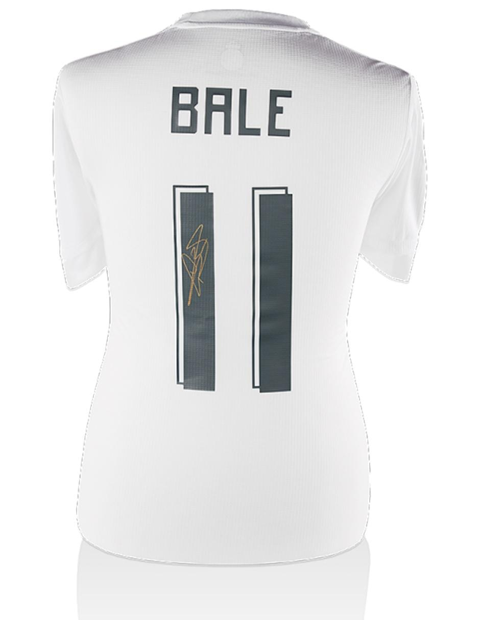50da5a63e Jersey autografiada Idolos Real Madrid Gareth Bale