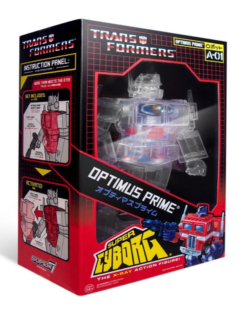 Figura Optimus Prime Super Colección De 7 Transformers 0nOwPk