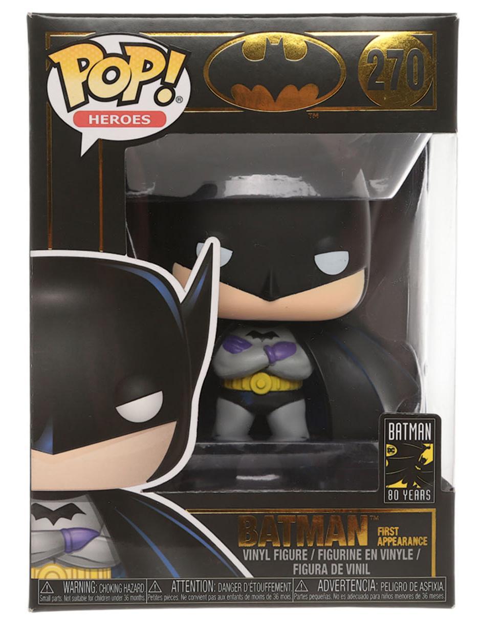 Figura De Vinil Pop Batman Heroes Dc Comics ymNnv0w8O